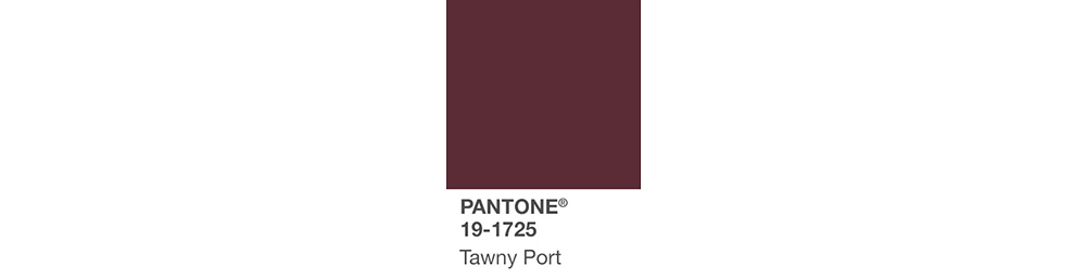 PANTONE Fashion Color Report design inspiration Fall 2017