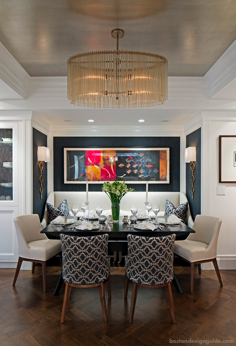 luxury home dining room designs for fall