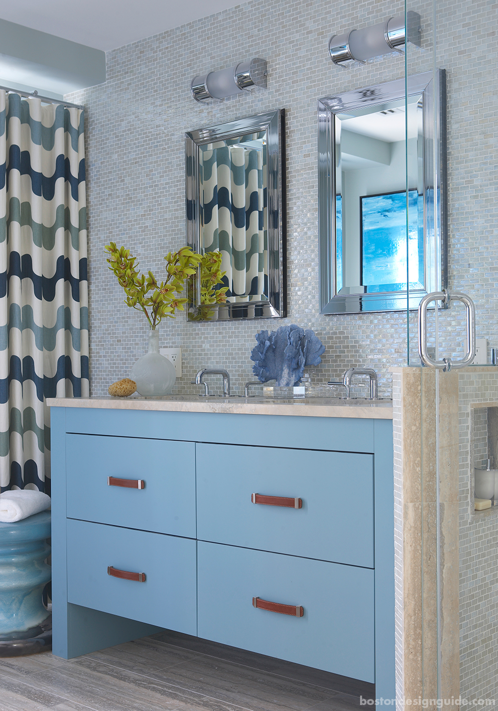 high-end bathroom design trends