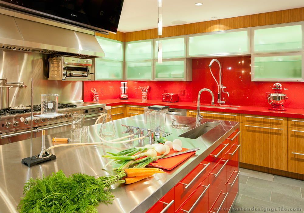 red trends in the home
