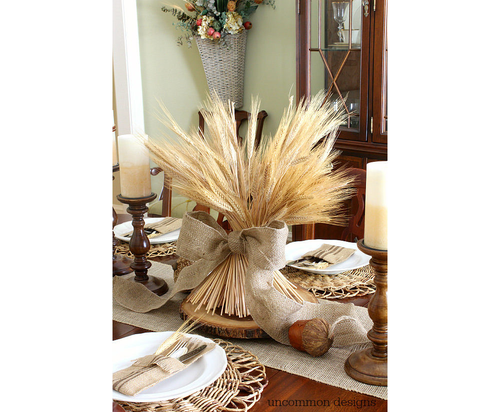 elegant table centerpiece