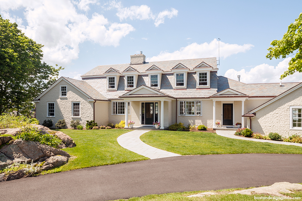 Classic Home Construction And Design On Marblehead Harbor