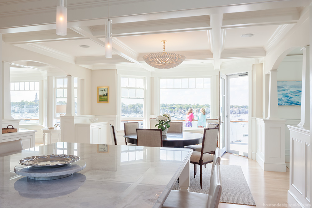 Family construction New England seaside home design