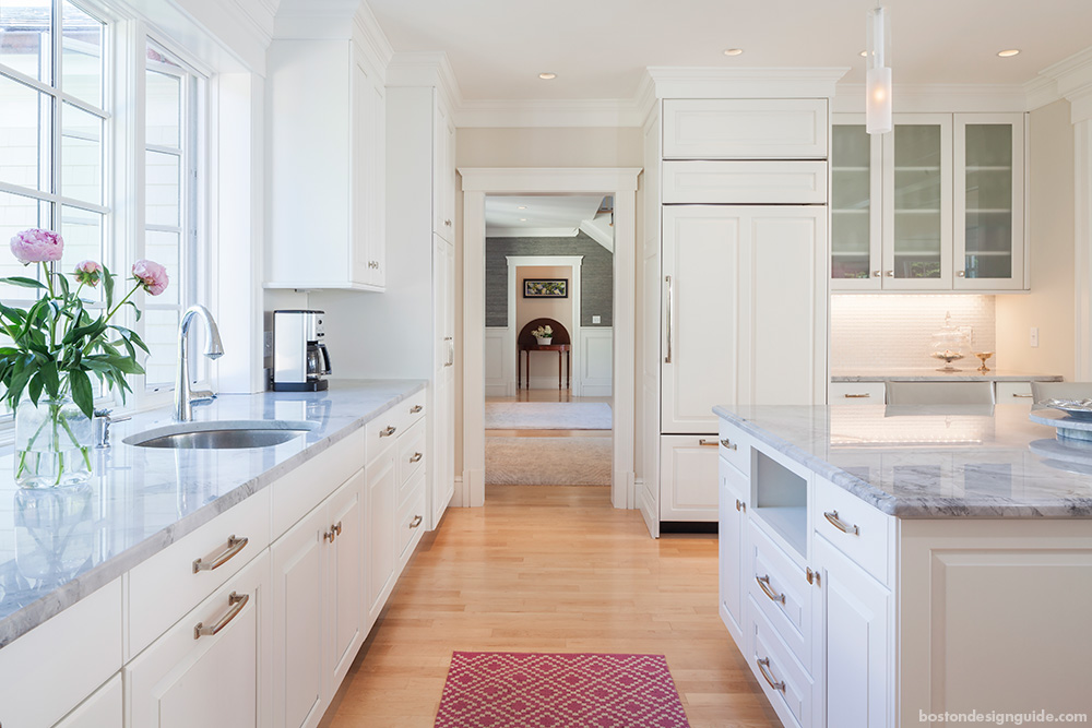 New England Home design and construction, high end kitchen