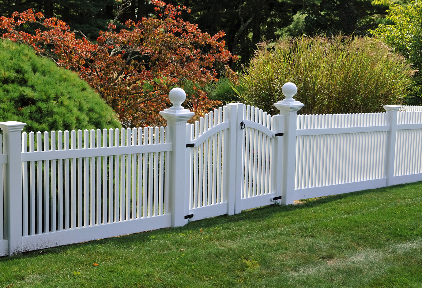 Fence staining by Perfection Fence