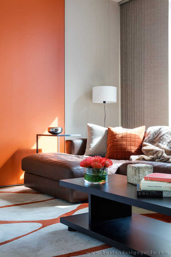 Interior Design and architecture using PANTONE trending Colors New England