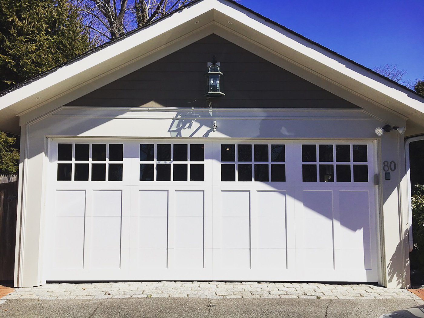 Garage door transformation boston design guide for Garage transformation