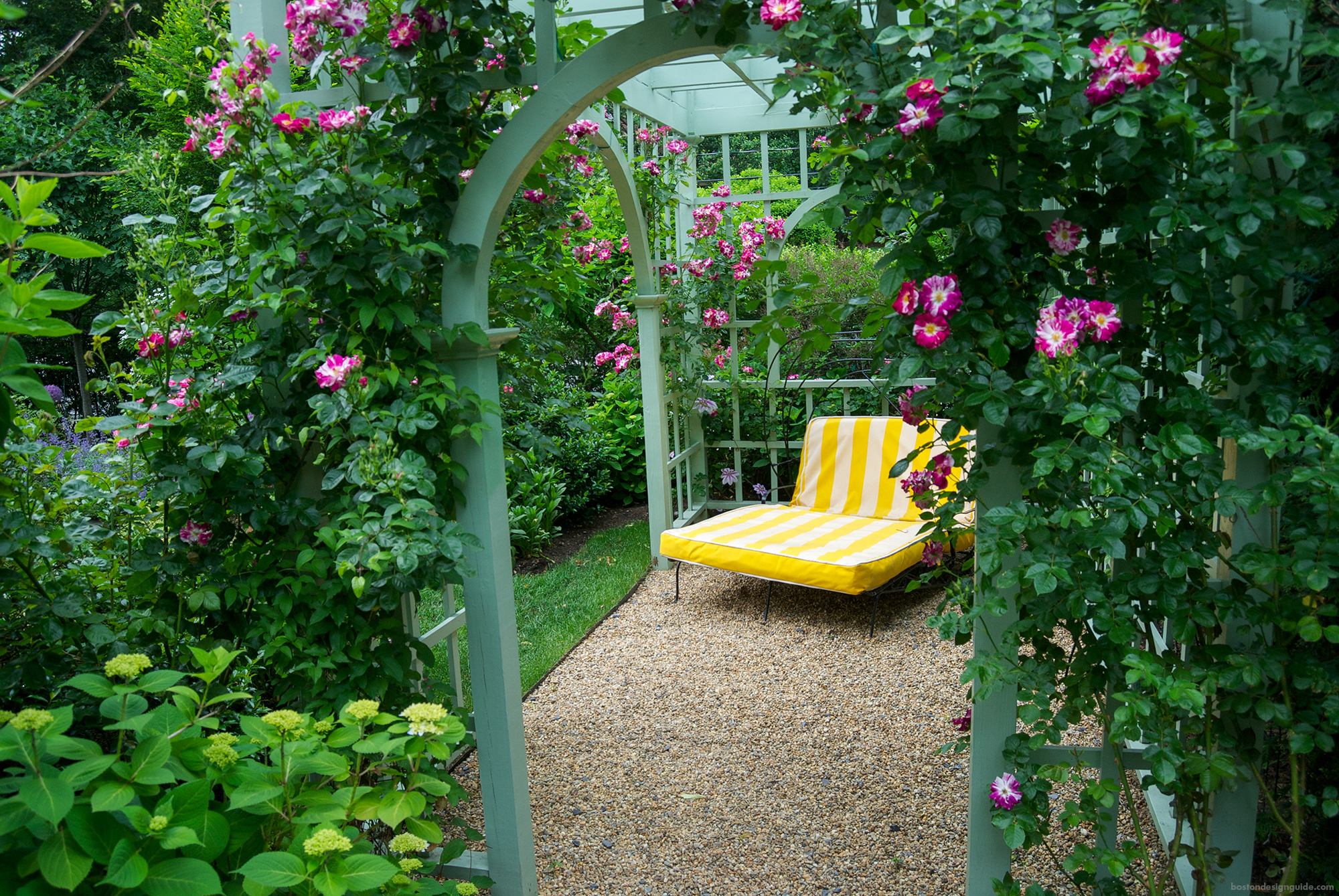 Garden home landscape design