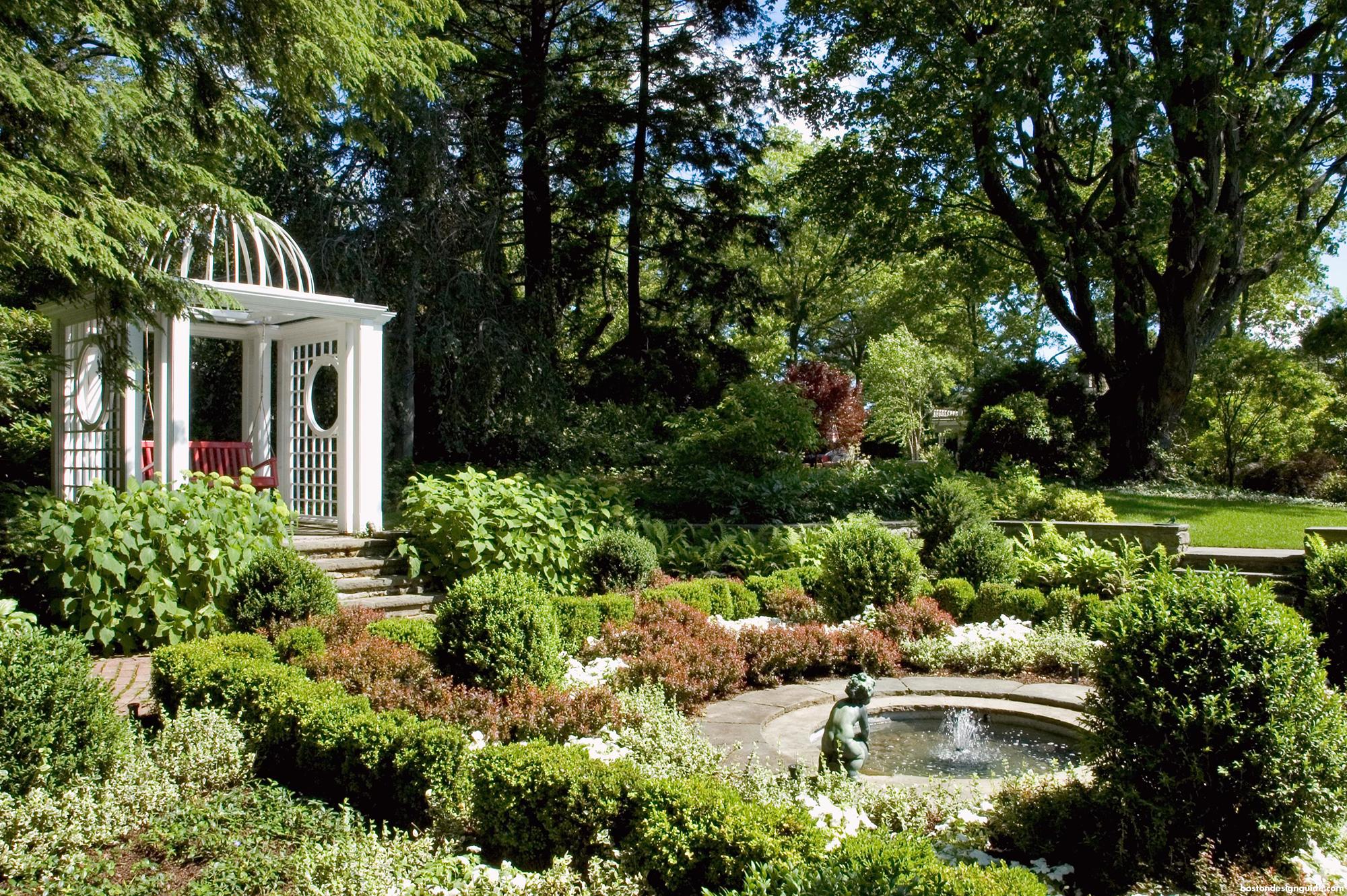 Home garden landscape design