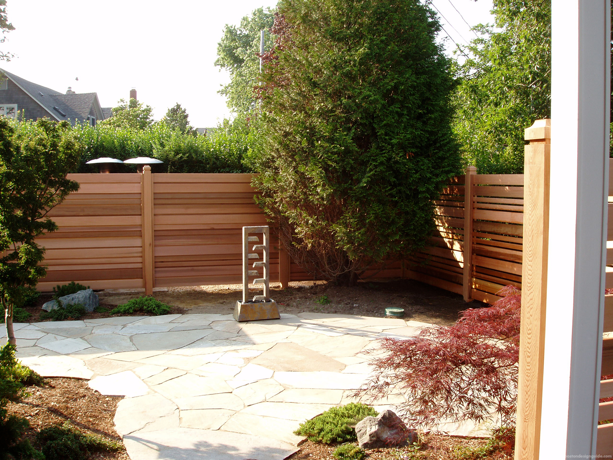 landscape design transformation courtyard