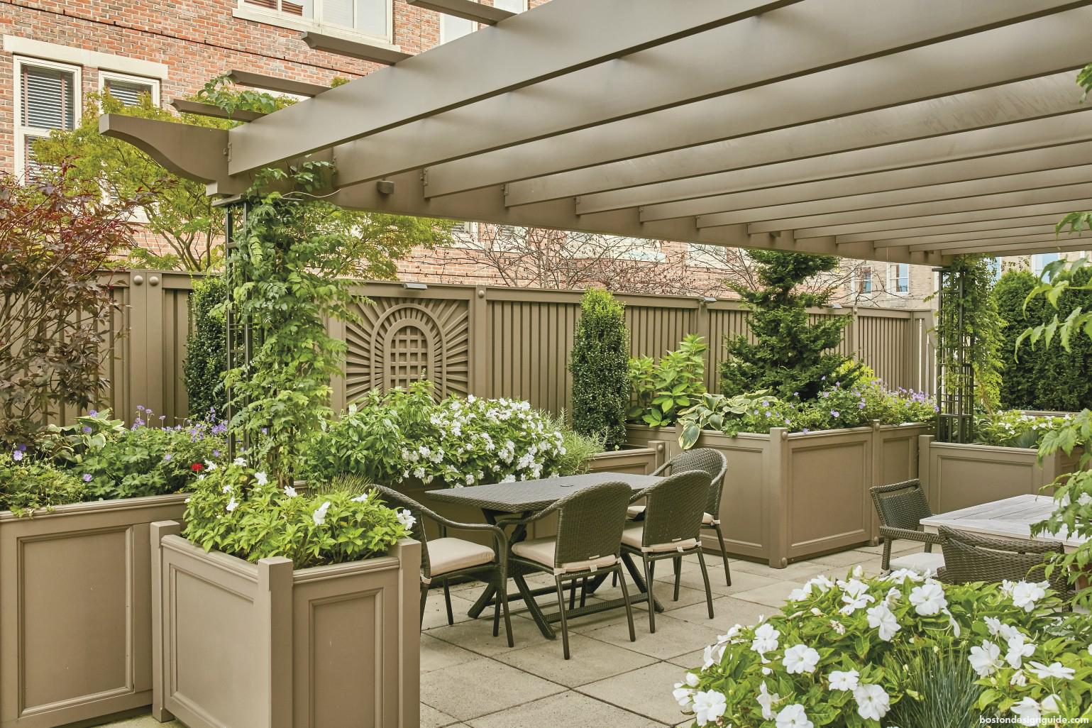 Home outdoor lifestyle custom pergola private patio design