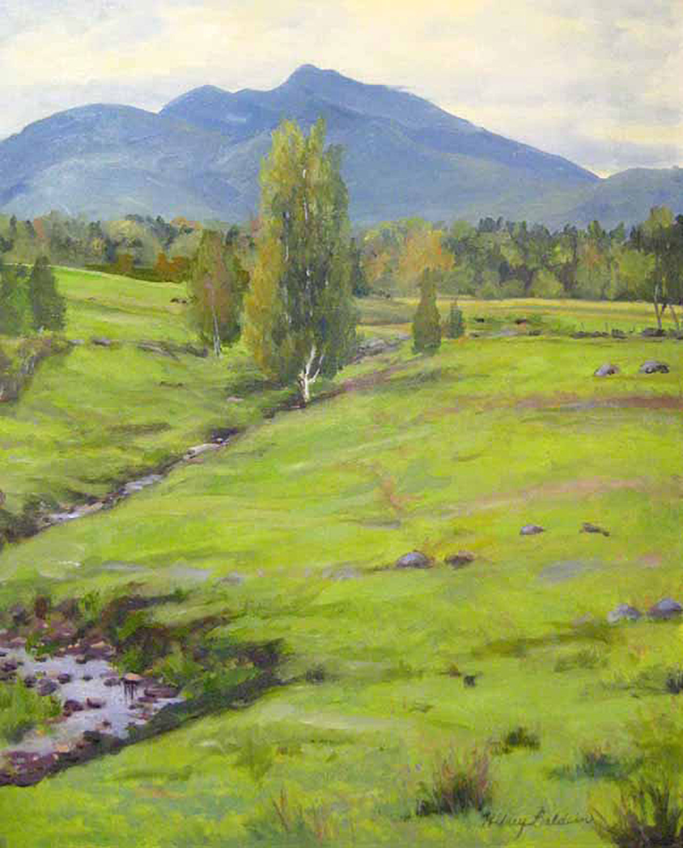 Landscape paintings at Renjeau Galleries