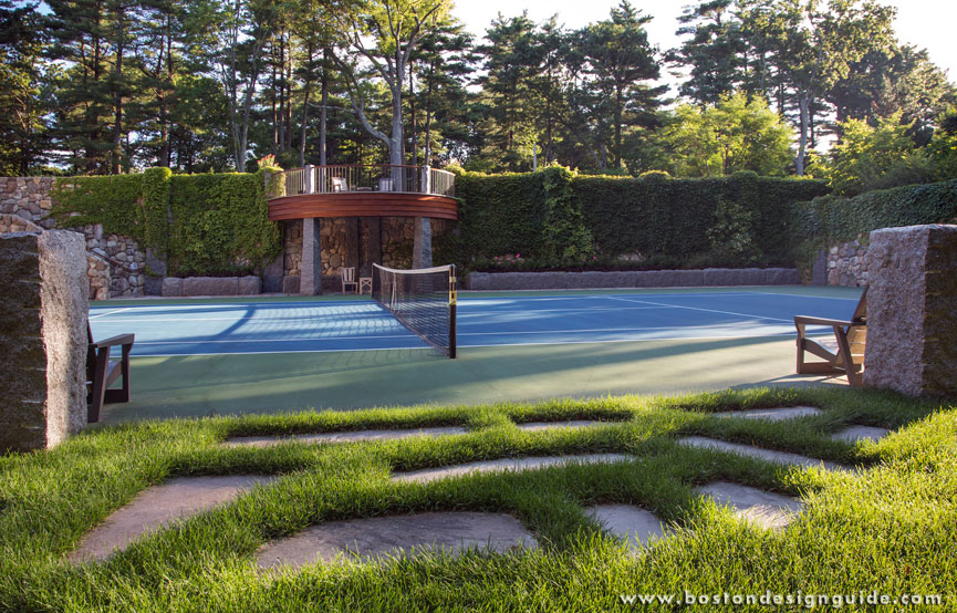 tennis court by gregory lombardi design