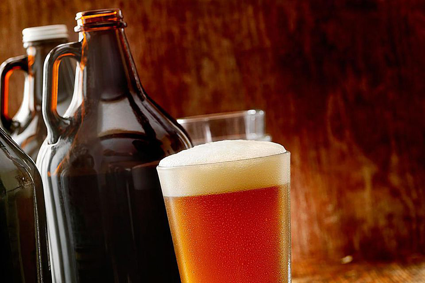 Growlers for tailgate