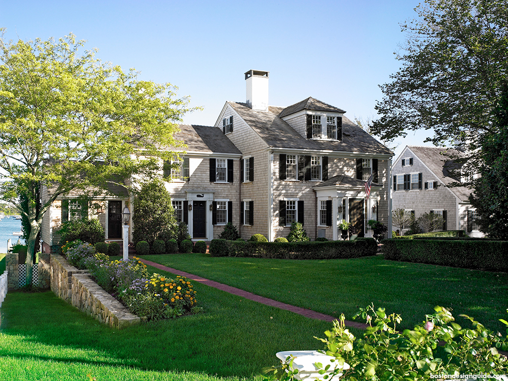 New england classics a vintage edgartown restoration for New england colonial house