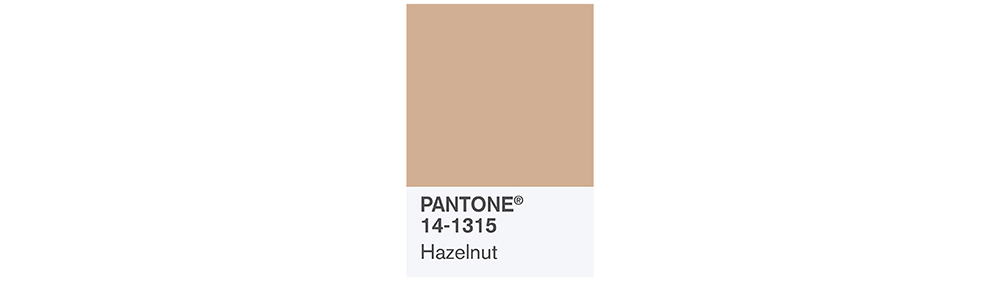 PANTONE Spring 2017 Fashion Color Report, Hazelnut