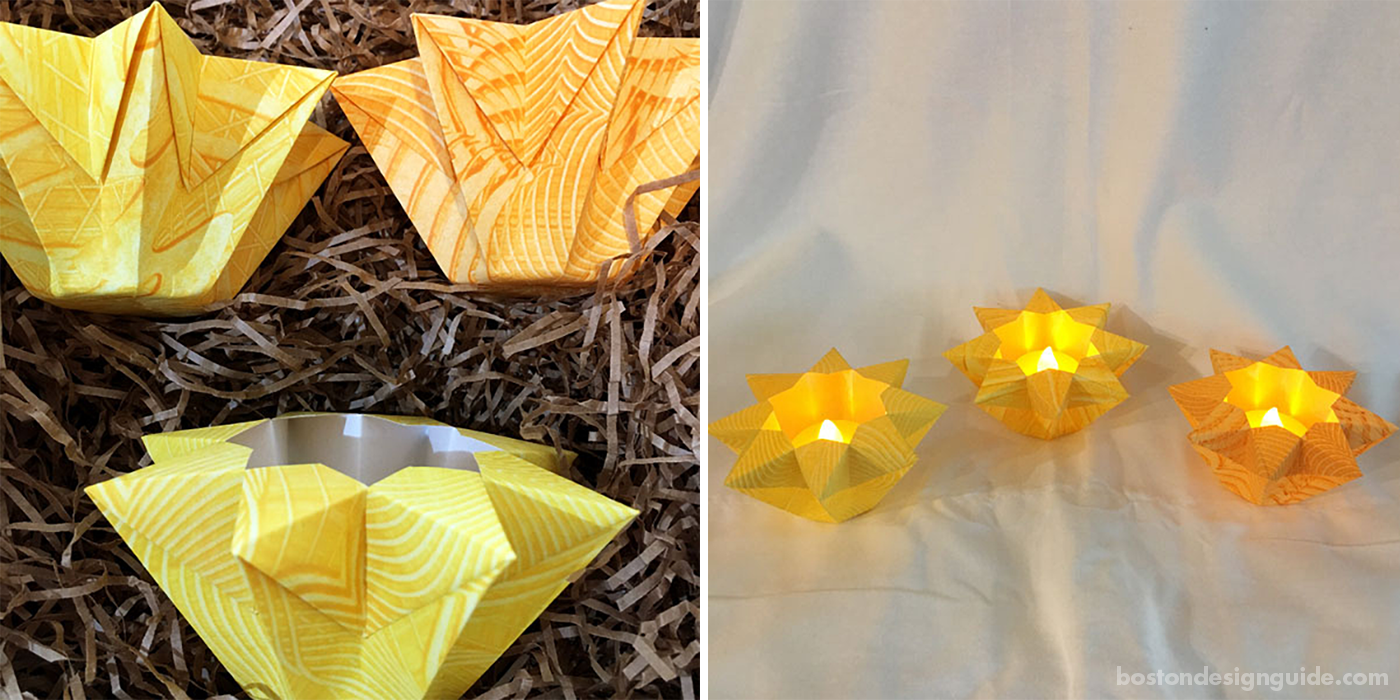Origami luminaria