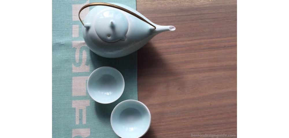 Porcelain tea set holiday gift
