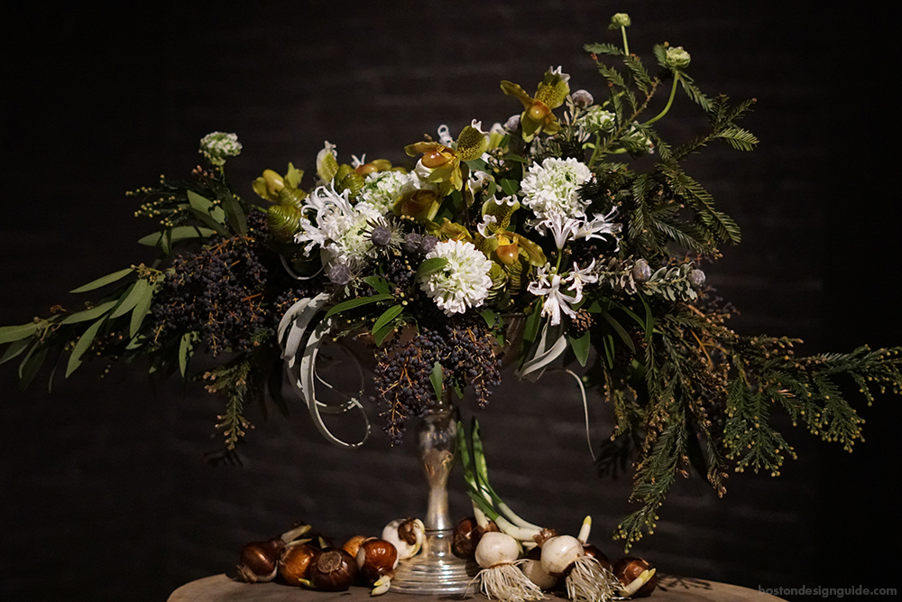 Floral Design Holiday Gift for the Host