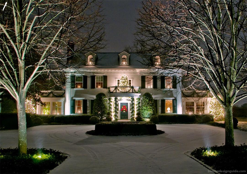 Holiday House Decoration