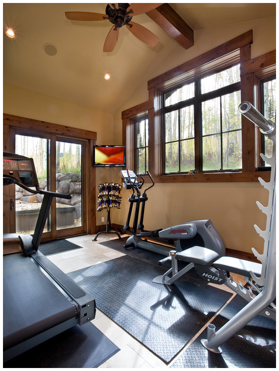 Beautiful Home Gyms To Kickstart Your New Year