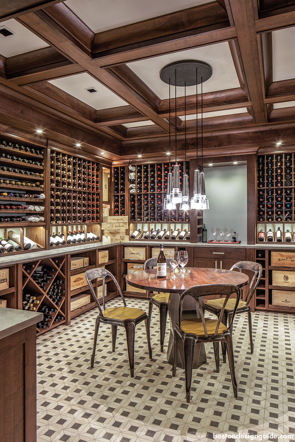 residential home custom wine cellars