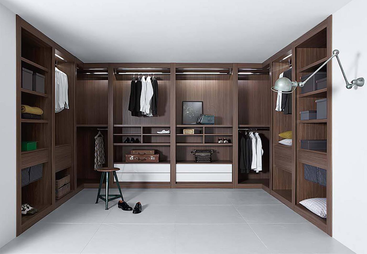 Freestanding custom closet