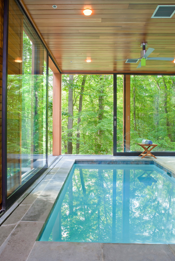 10 enviable indoor pools boston design guide for Pool design guidelines