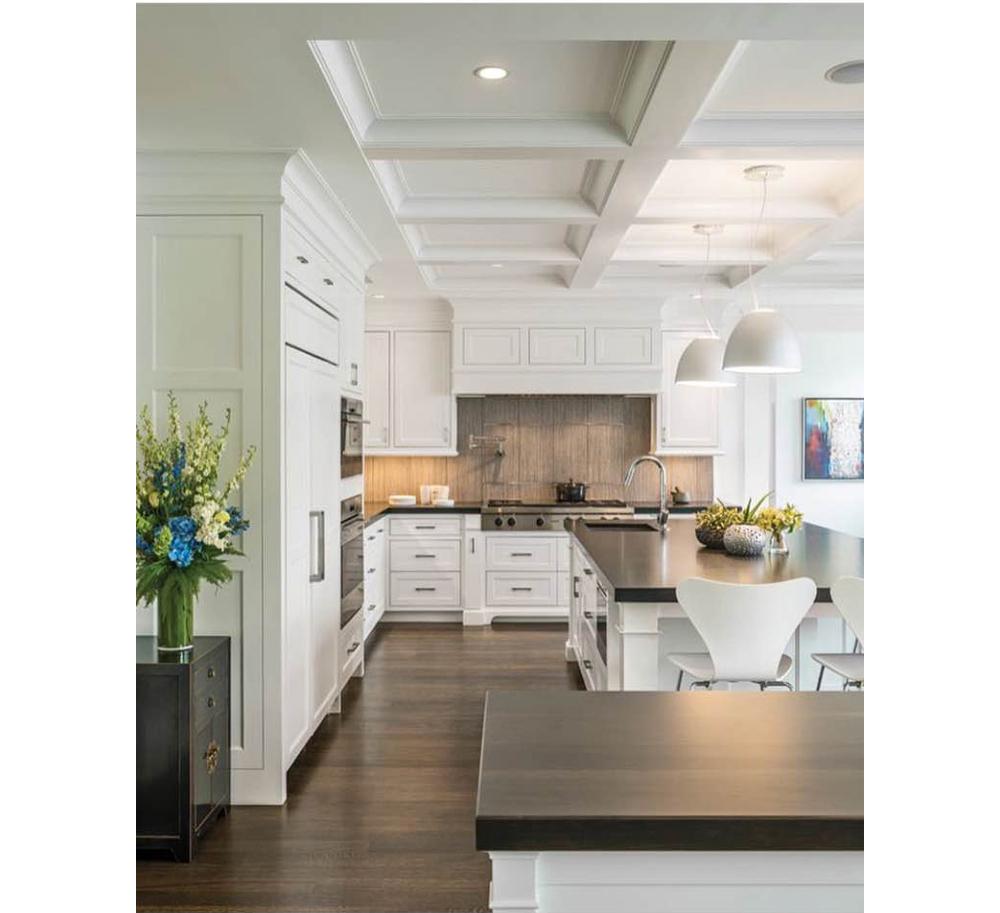 Stunning White Kitchens New England
