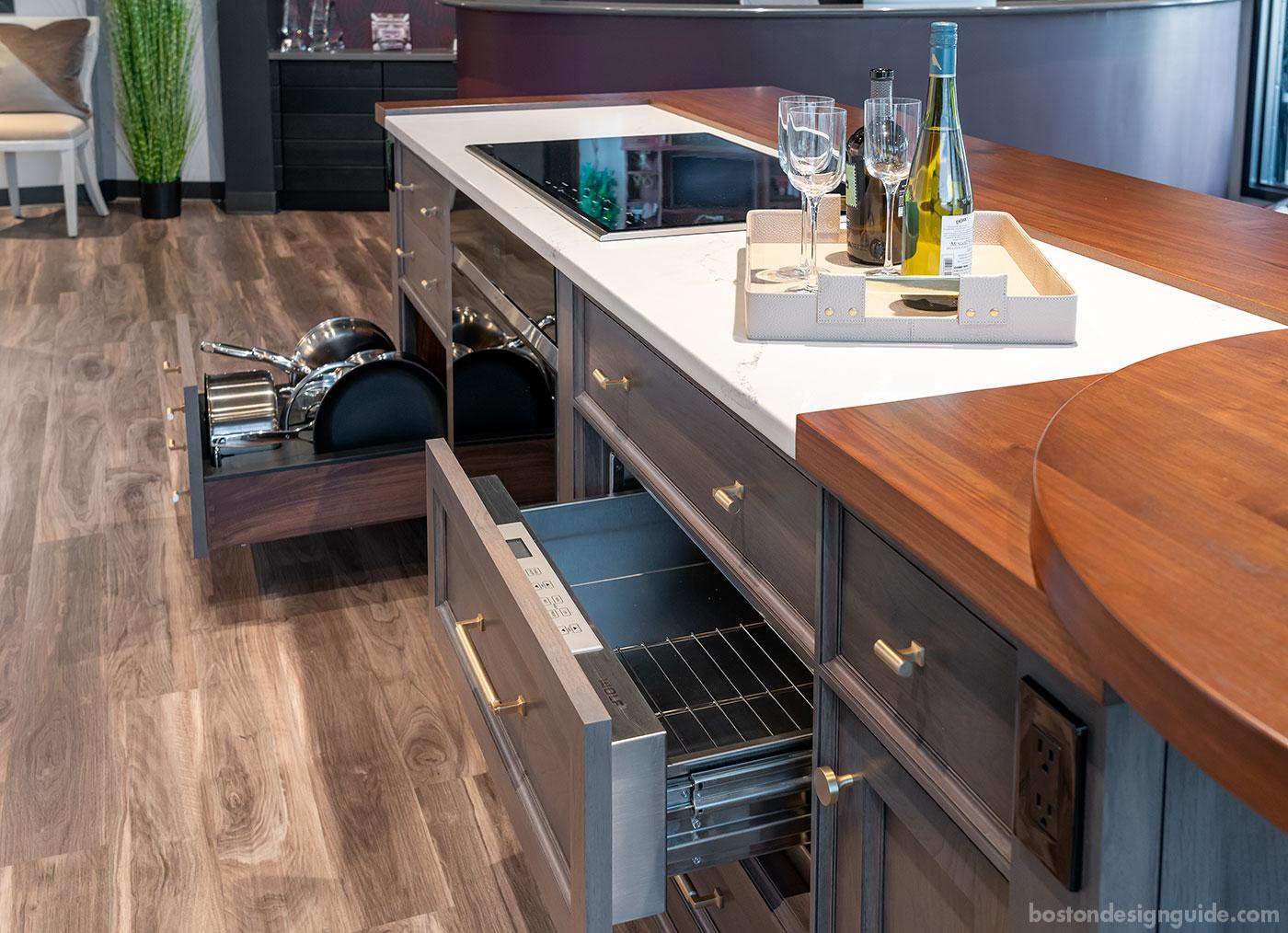 interiology Design Studio Co. custom kitchen island
