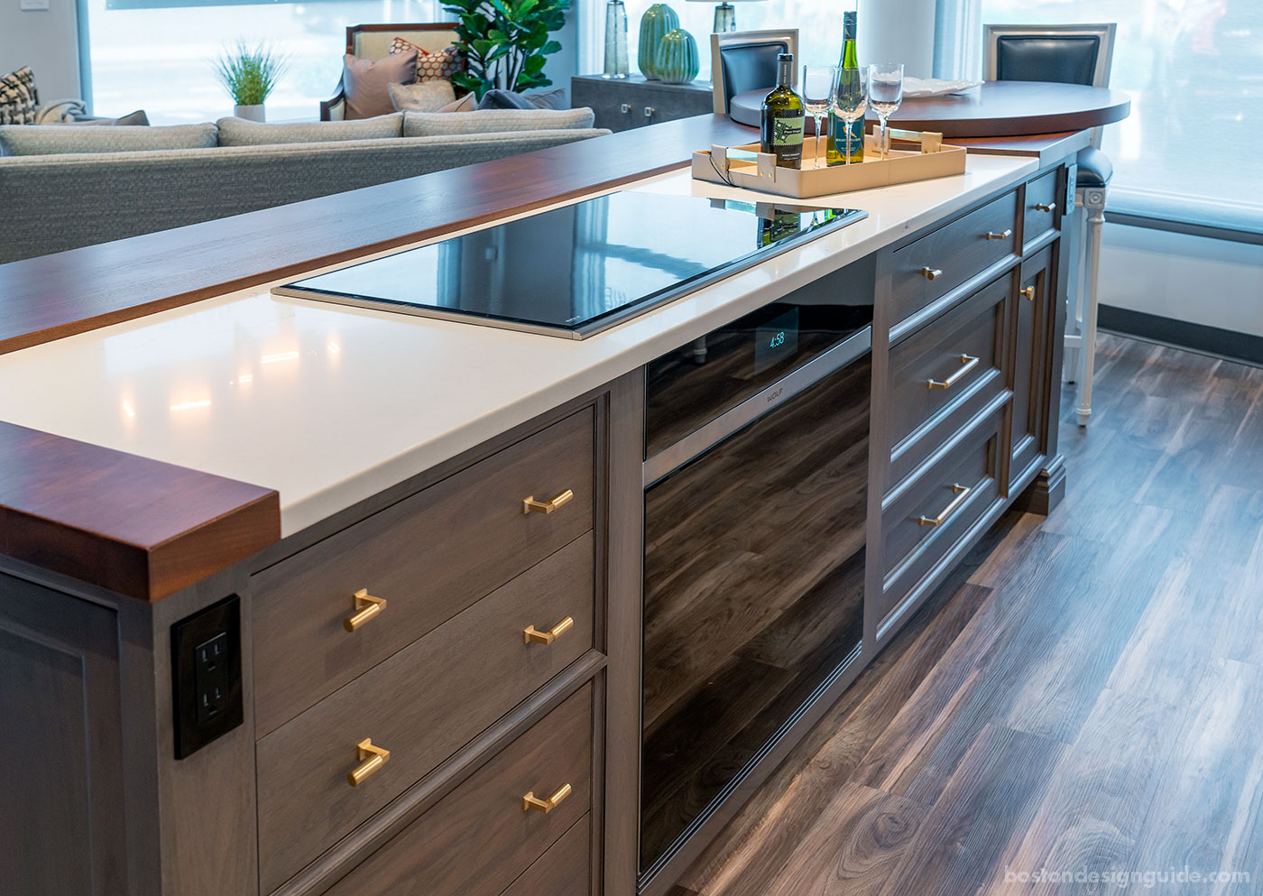 Fully operational gourmet kitchen at Interiology Design Co.