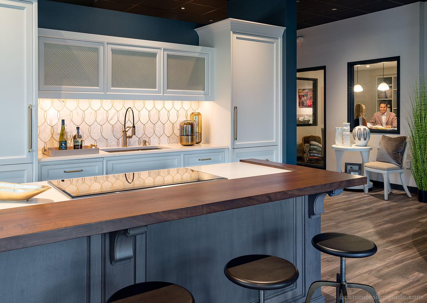 Interiology Design Studio Co. showroom and custom kitchen