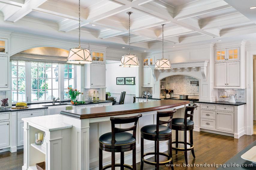 Custom White Kitchens the ultimate white kitchens | boston design guide