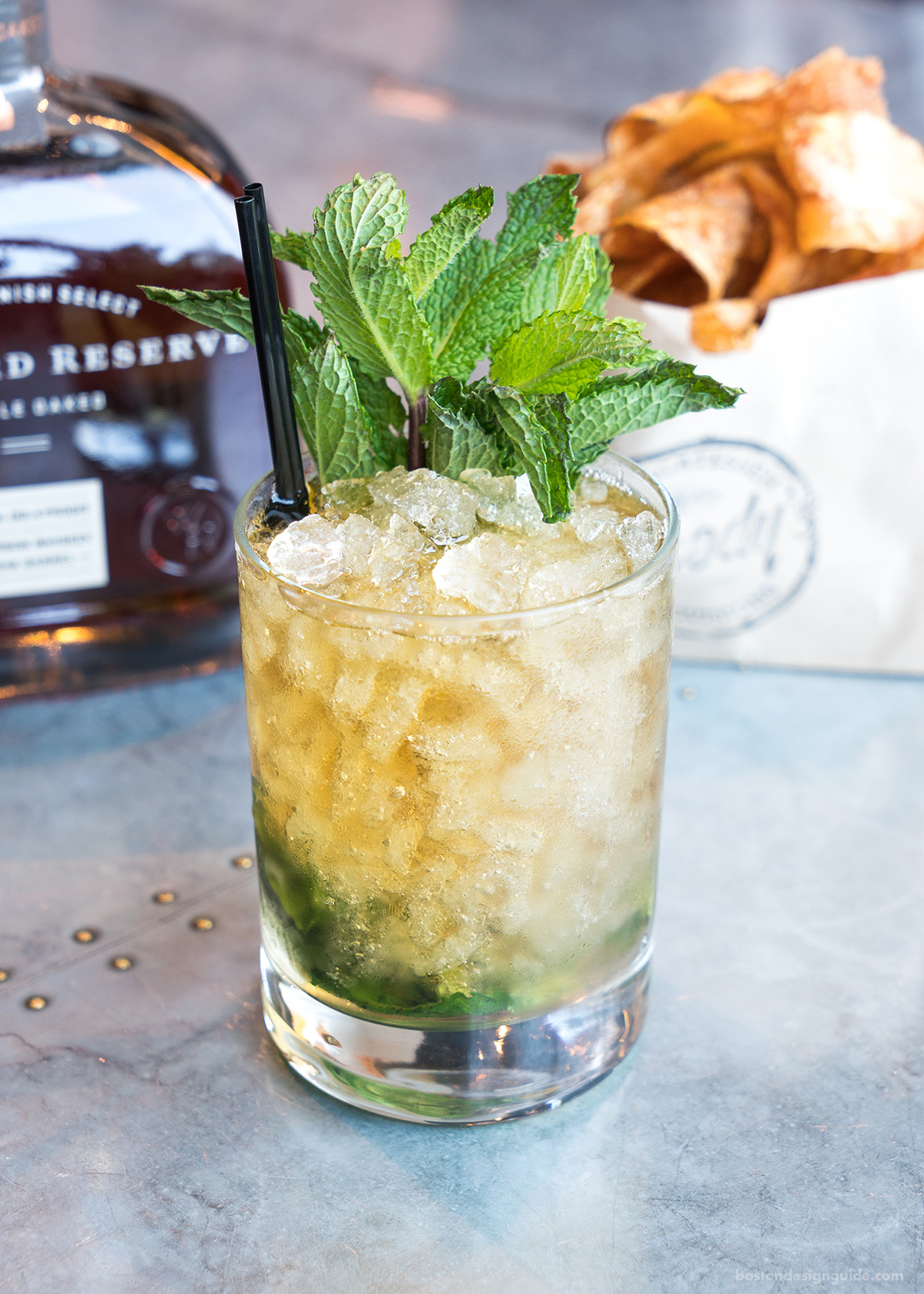 Mint Julep Recipe by Boston Bar