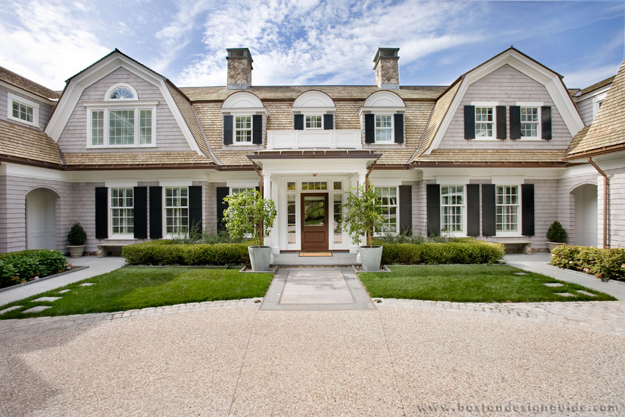beautiful shingle-style homes