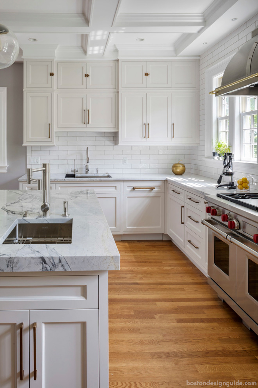 high-end home kitchen remodels in Boston