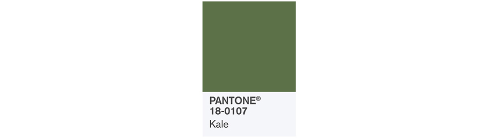PANTONE Spring 2017 Fashion Color Report, Kale