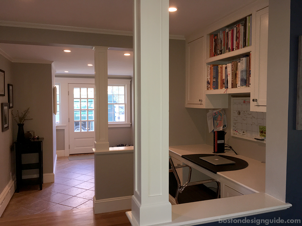 luxury home mudroom