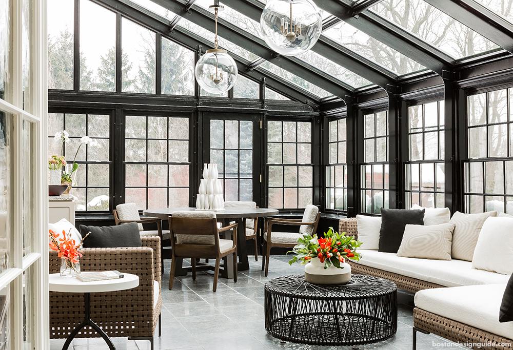 Classic home design construction sunroom conservatory