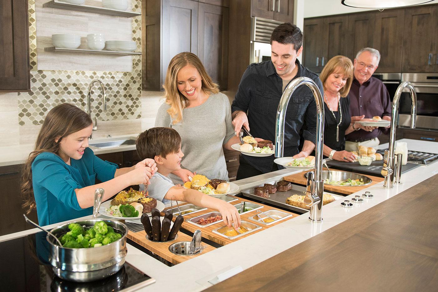 Prep, Serve, Cook & Clean Kitchen Workspace by Clarke