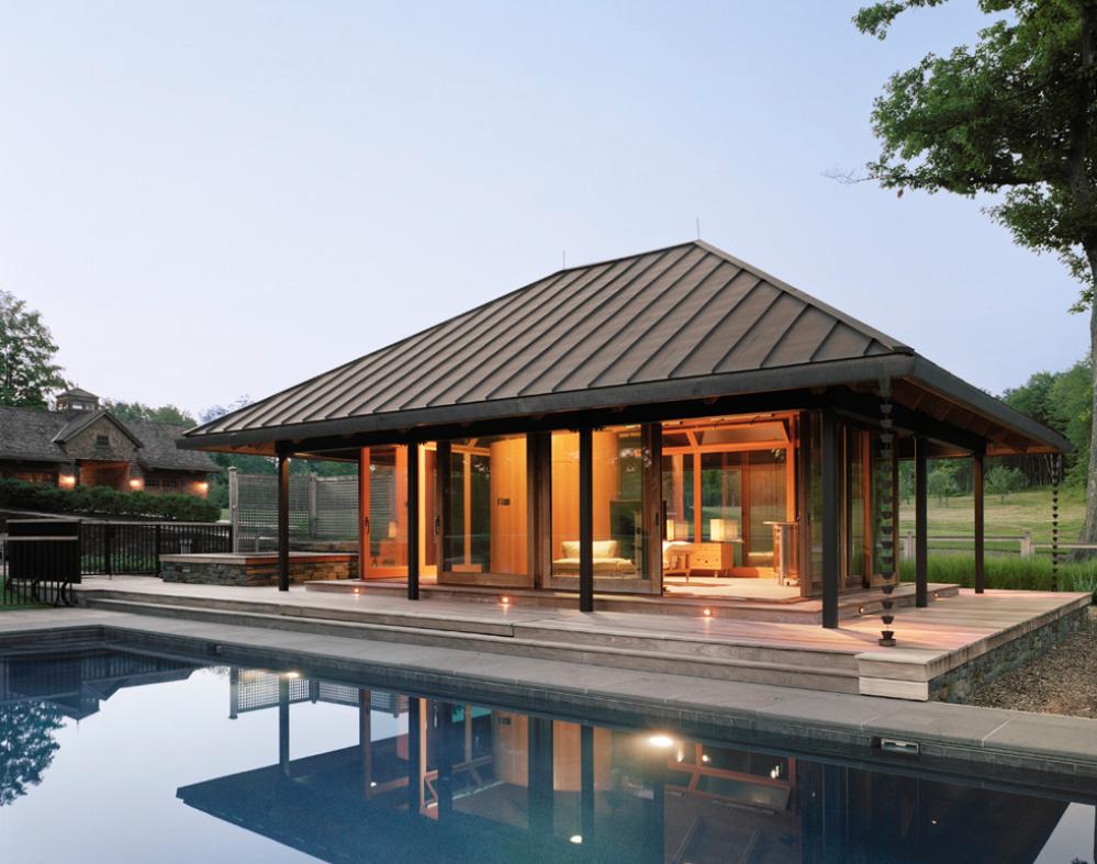 Summer Pool Houses