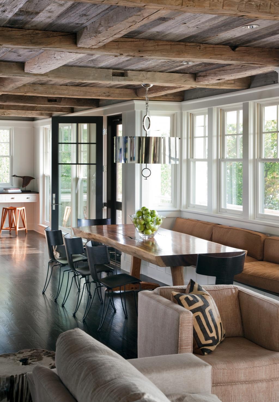 luxury rustic lake homes