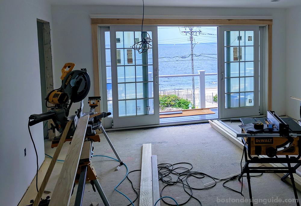 home rebuilding process