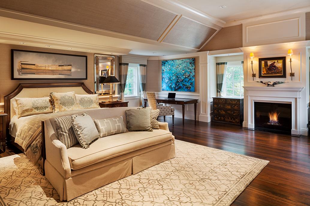 high-end master bedroom renovation makeover