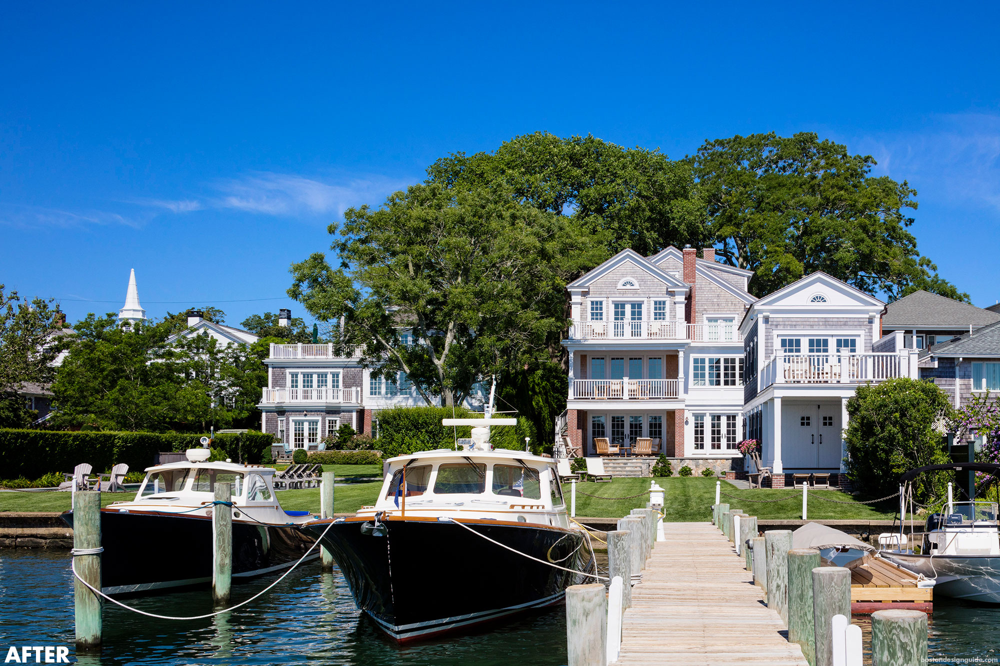Edgartown renovation and historic preservation