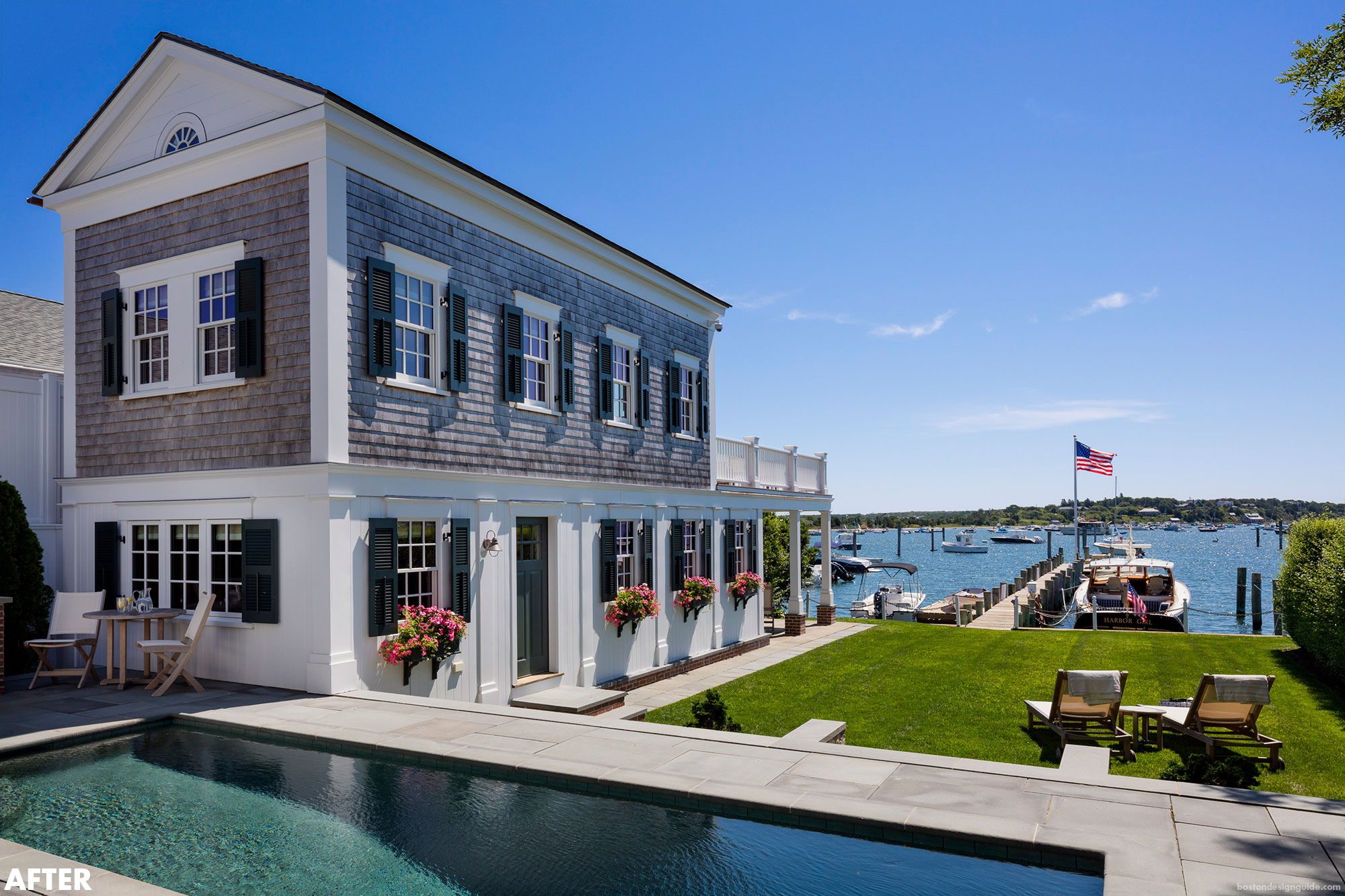 Edgartown Harbor Gorgeous Homes