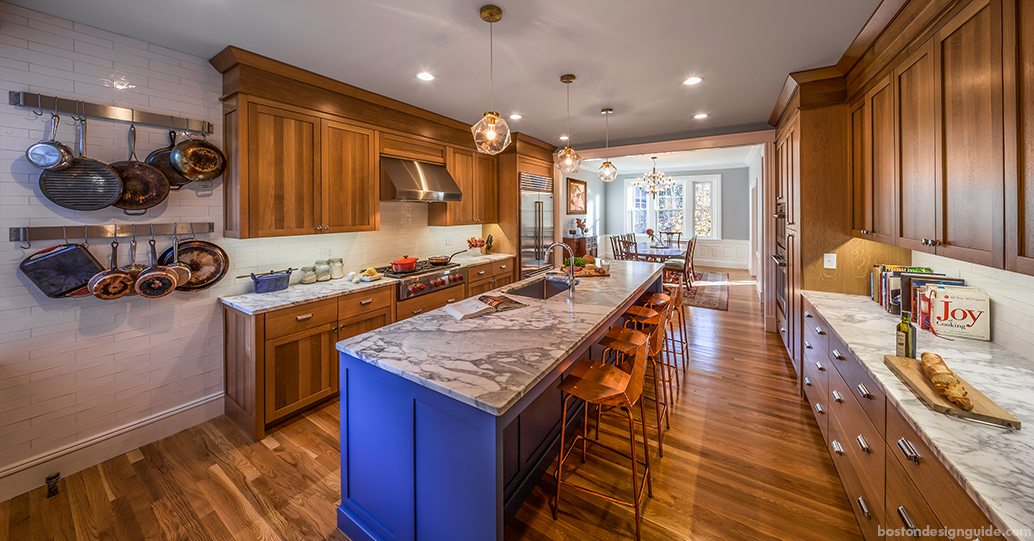 Kitchen renovation in Brookline