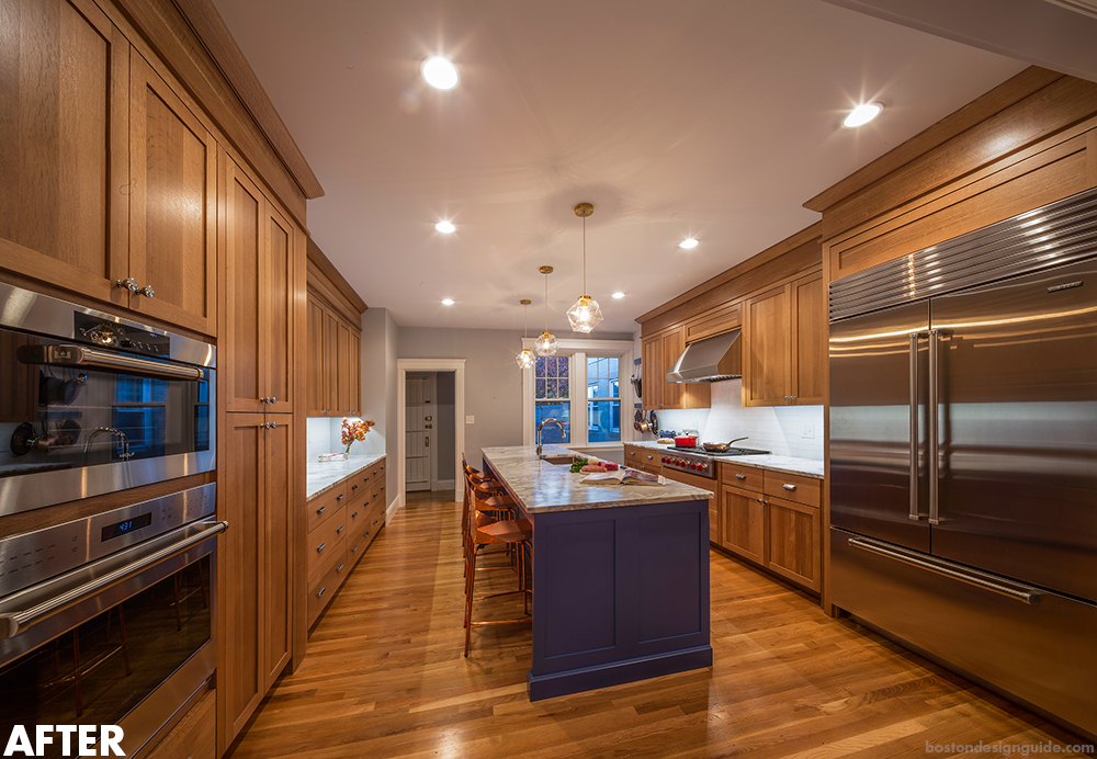 Home renovation design in New England