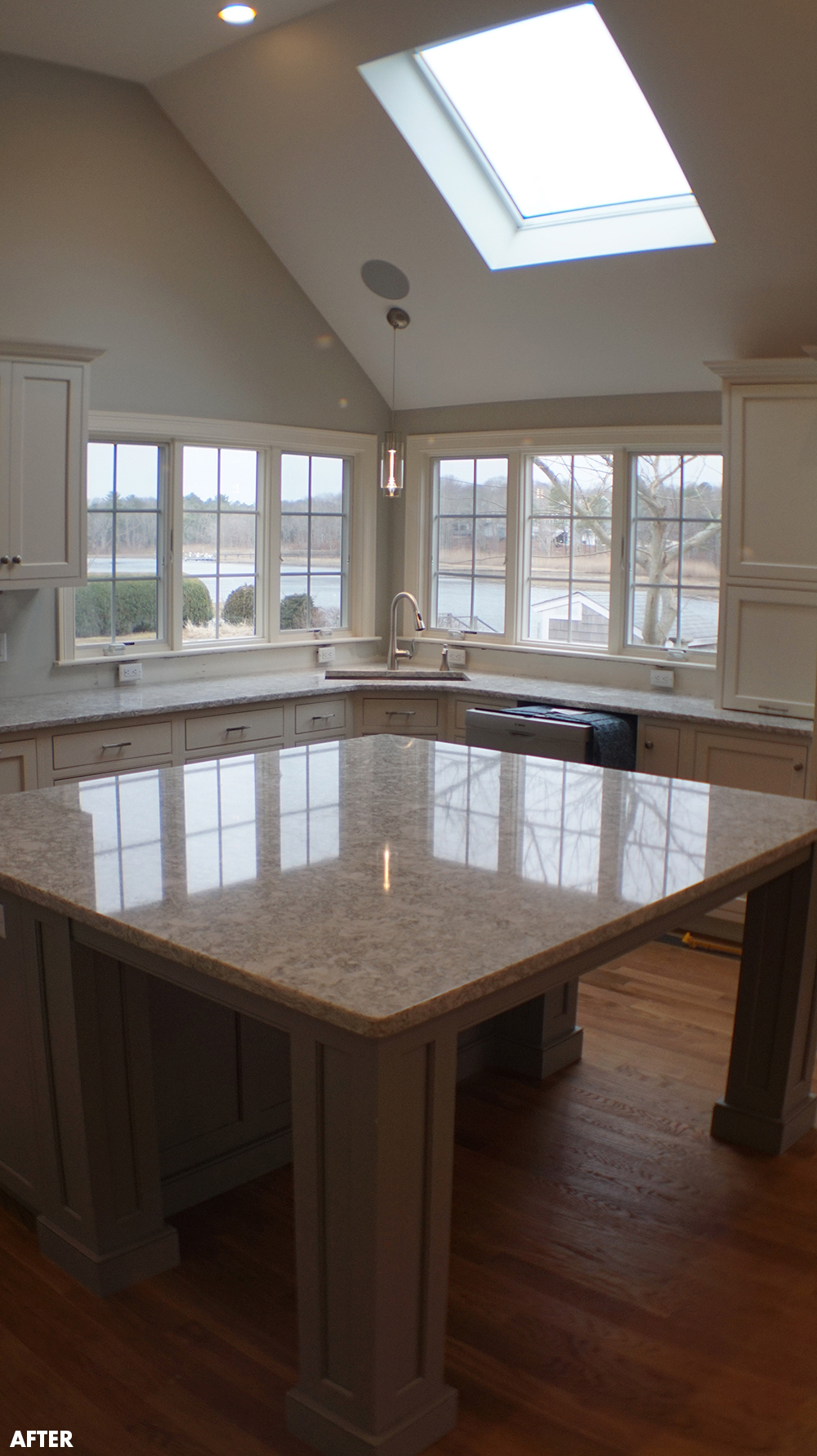 Kitchen renovation and makeover in Cape Cod