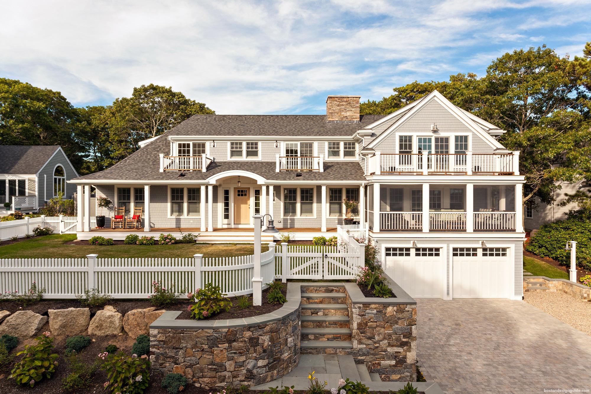 new home design/build on Cape Cod
